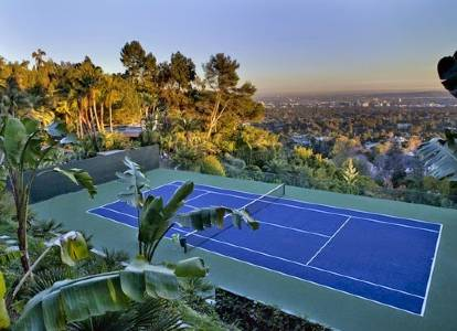 Infinity Tennis Court, Los Angeles