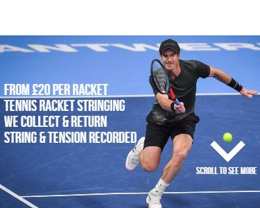 Tennis racket stringing mobile feature image